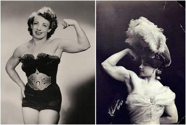 Цирковые борчихи и силачки: время, когда женщины могли побить мужчину и получить за это деньги