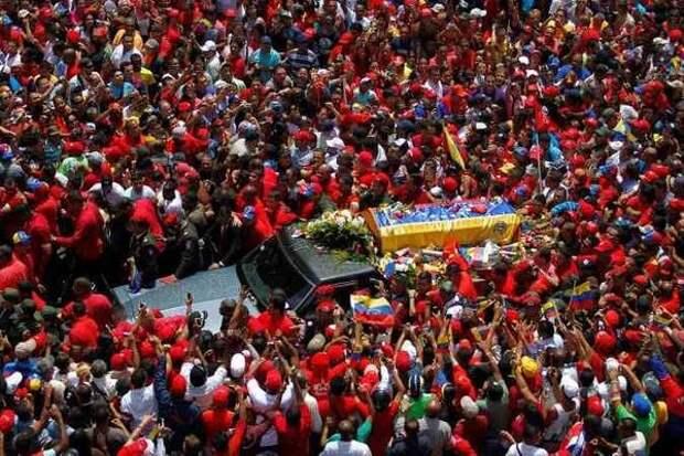 5 марта 2013 года скончался президент Венесуэлы Уго Рафаэль Чавес Фриас.