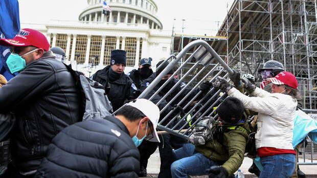 Мария Захарова: протесты и демонстрации – это внутреннее дело США