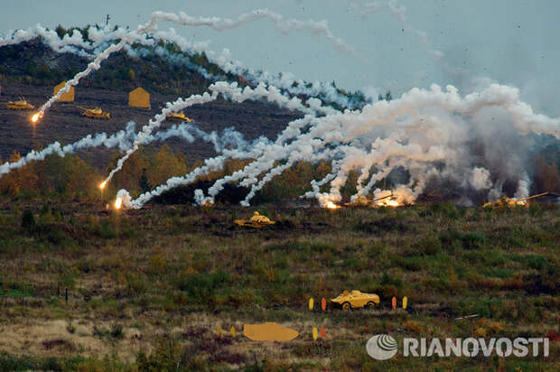 Военная техника России на выставке в Нижнем Тагиле