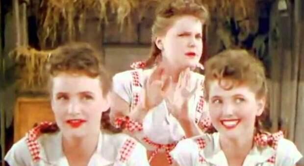 В 1944-м сестры Росс записали это вирусное видео. За 70 лет никто не смог повторить их непостижимые трюки!