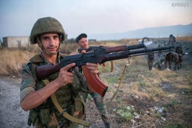 В Сирии отметили 76-ю годовщину основания национальной армии