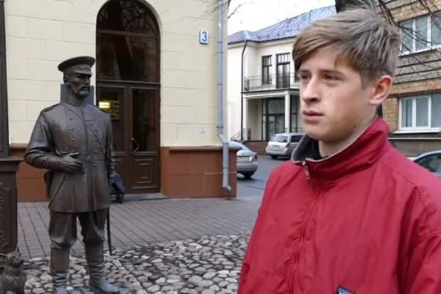 Сравните с Украиной: Как белорусы наказали глумившегося над советским памятником