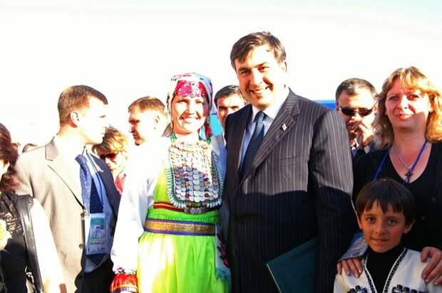 Экс-президент Грузии Михаил Саакашвили все-таки получил должность в Украине
