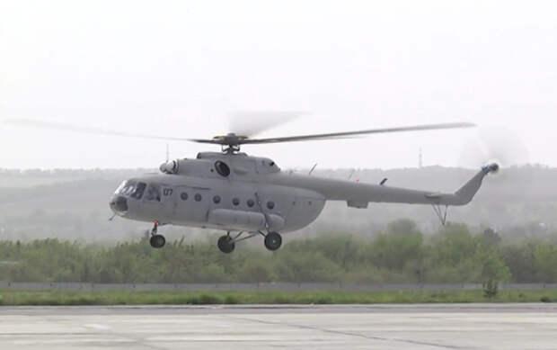 """Ми-8МТВ с новыми двигателями ТВ3-117ВМА-СБМ1В ГП """"Мотор Сич"""" установил 12 мировых рекордов"""