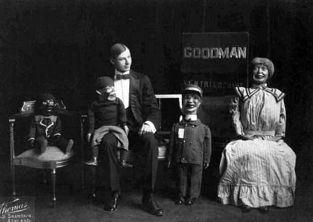 Куклы, с которыми не хочется играть: деревянные напарники чревовещателей