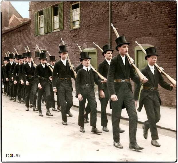 Бодренькие настроения начала Первой мировой войны.