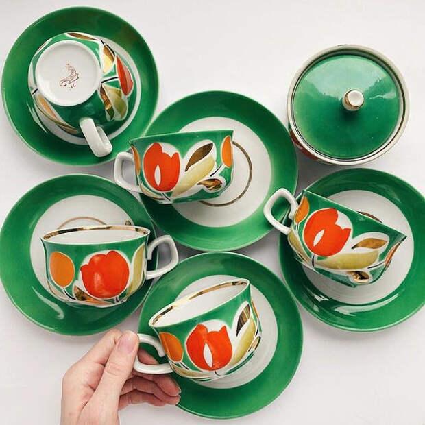 Наша, родная, советская: посуда, которую и сейчас не стыдно показать гостям