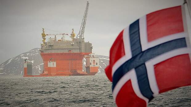 На40% Норвегия хочет сократить выбросы ватмосферу