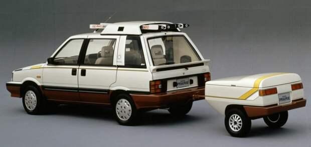 Nissan Prairie Winter Space Wagon - Концепт для любителей зимних видов спорта nissan, авто, автомобили, минивэн