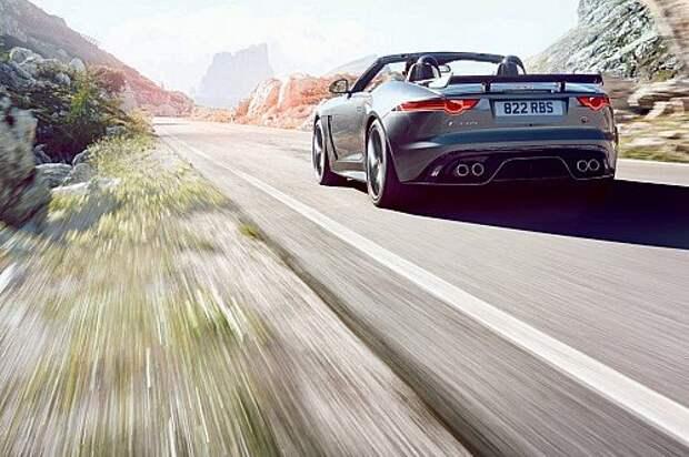 Экстремальный Jaguar F-Type SVR «утек» в интернет (ФОТО)