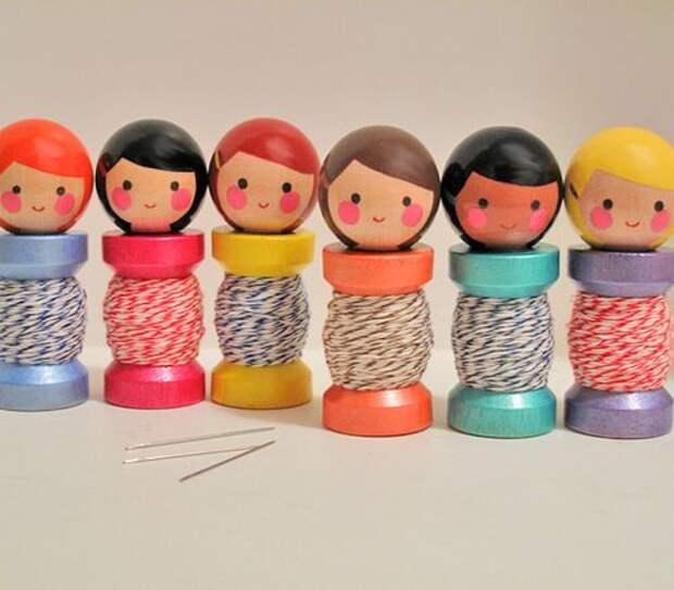 spool dolls :)