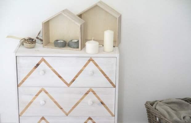 Как необычно покрасить мебель