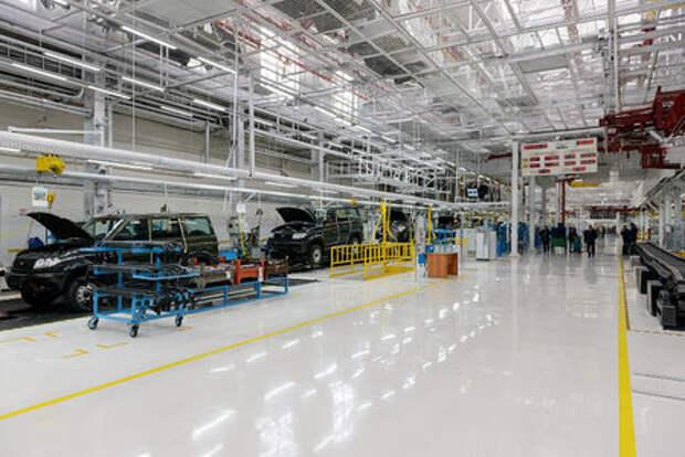 УАЗ ужимает производство из-за падения спроса