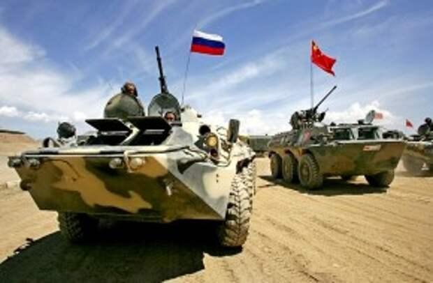 Военный союз России и Китая выгоден американцам