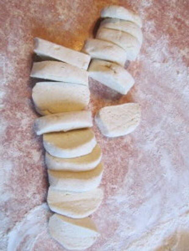 Творожное печенье с лимонной начинкой