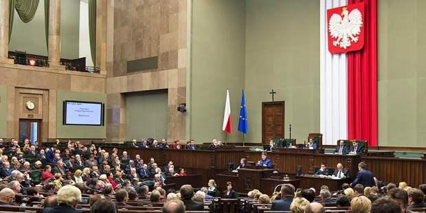 Польский парламент намерен запретить трактовать историю в пользу России