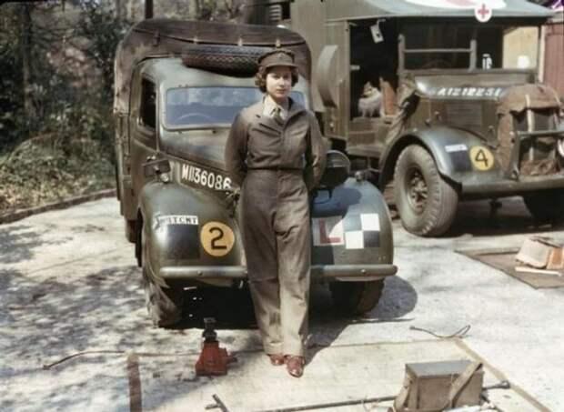 Королева Елизавета во время Второй мировой войны интересно, история, фото
