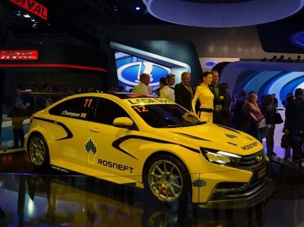 Еще одна громкая премьера АВТОВАЗА – спорткар Lada Vesta WTCC