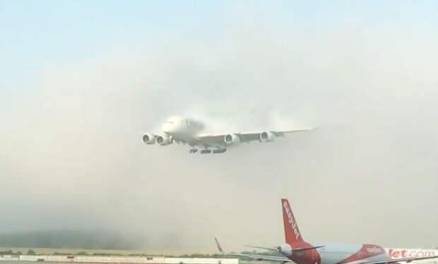 Самолет вышел из облака в 10 метрах от земли: мастерство пилотов