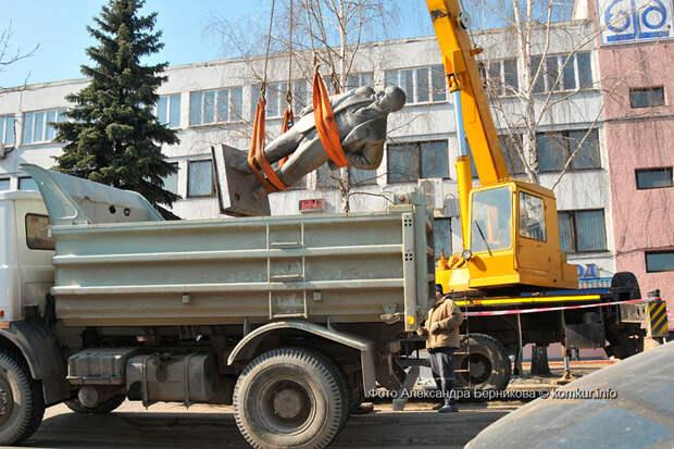 В Бобруйске продолжается тихий ленинопад