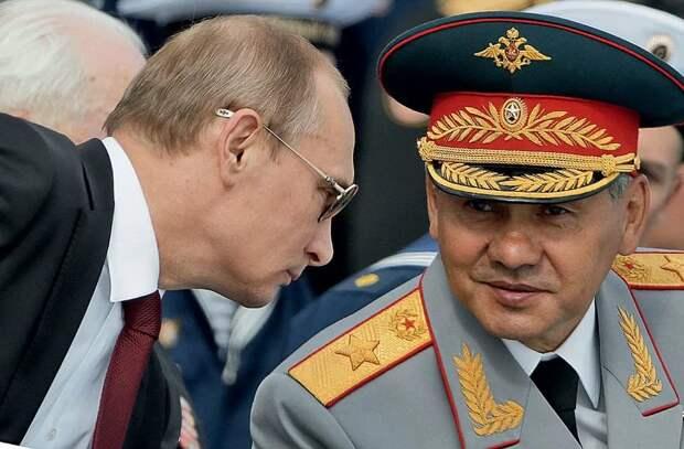 Кто помогает Шойгу копать под Путина