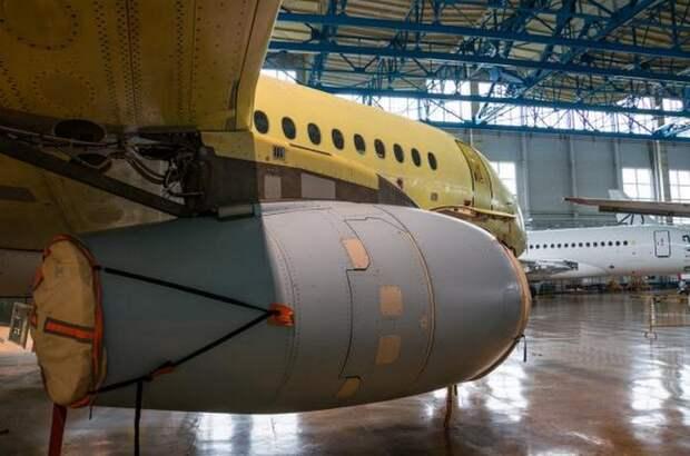 Суперджет. Самолёт из России.