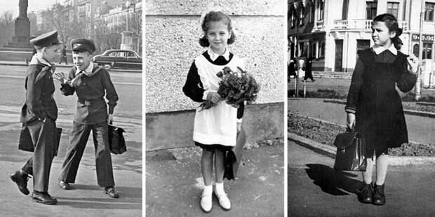 В советских школах форму ввели в 1948 году.