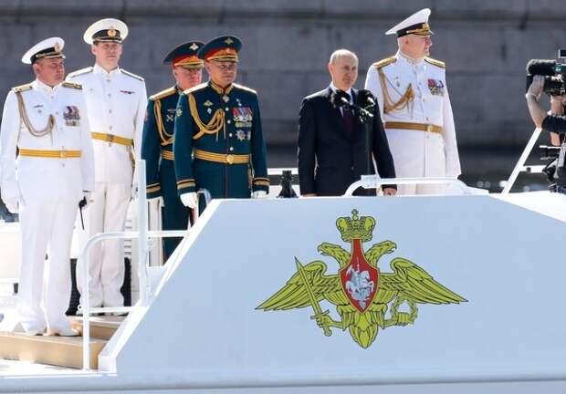 Путин пообещал усилить ВМФ гиперзвуковым оружием