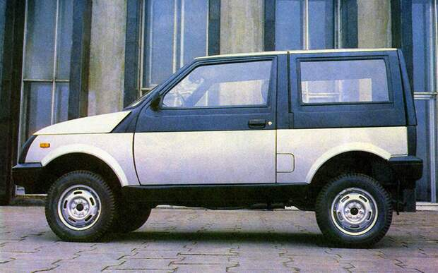ЛуАЗ-1301 – Suzuki SJ40 газ, советский автопром