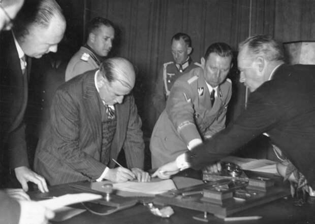 Мюнхенское соглашение, Германия, Франция, Англия, Вторая мировая война|Фото:
