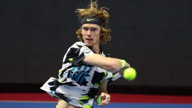 Российский теннисист Андрей Рублев попал в финал турнира в Монте-Карло