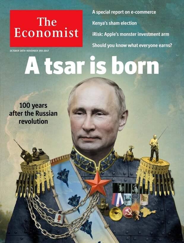 Царем частенько называют издания, издевательство, интересное, мир, обложки, политики, странное