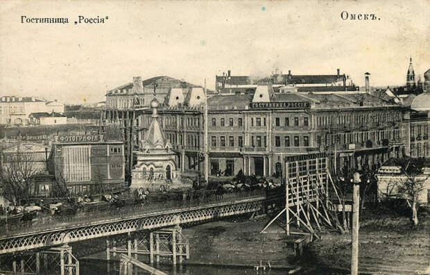 Омск. история, россия, фотографии