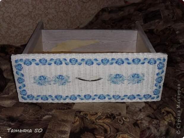 Интерьер Декупаж Плетение Переделки в ванной   Бумага Дерево фото 9