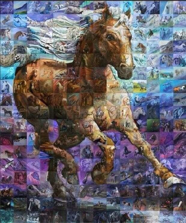 Льюис Лаво – художник, который творит поистине фантастические вещи. Одна его работа состоит сразу из десятков произведений искусства