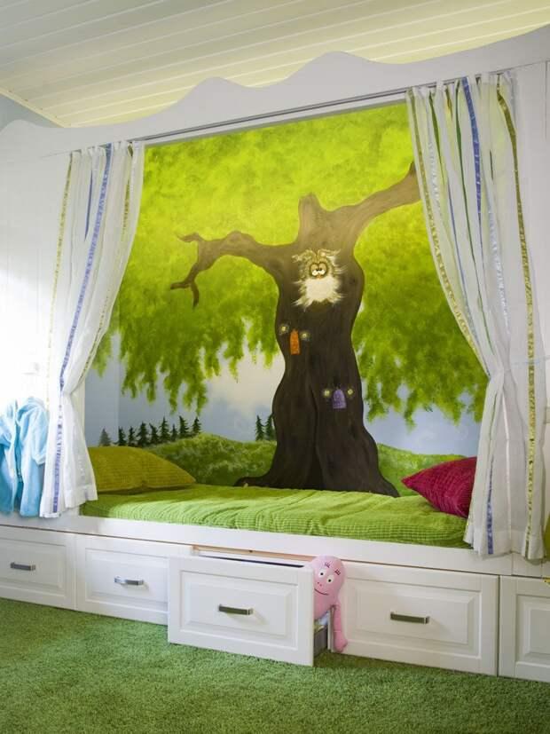 Самые необычные дизайны детских комнат