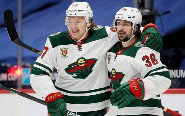«Миннесота» гарантировала себе выход в плей-офф НХЛ, а Капризов обновил клубный рекорд