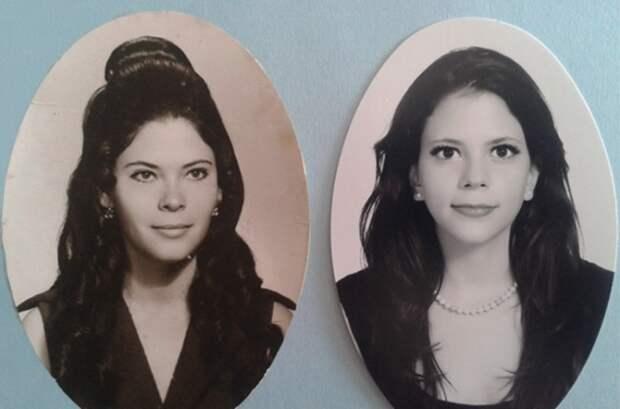 Назад в будущее: 23 фото родственников, которые заставляют поверить в машину времени