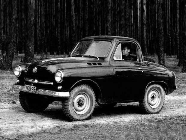 Забытая модель «Украинец», М-73, автомобиль, повышенной, проходимости
