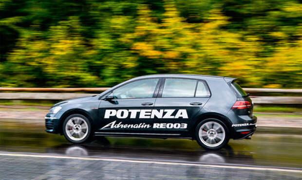 Летние шины Bridgestone Potenza Adrenalin RE003: формула скорости
