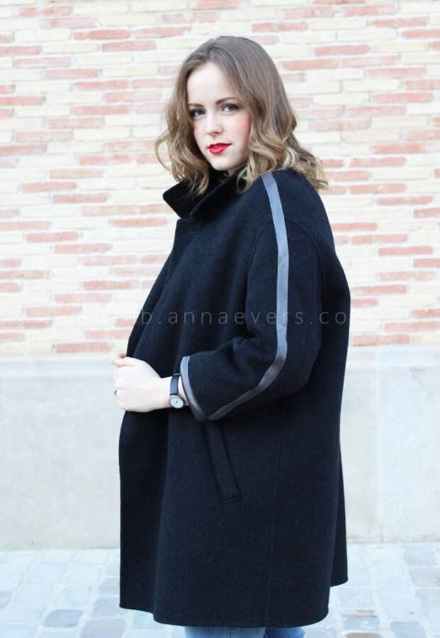 Уменьшение пальто на три размера (Diy)