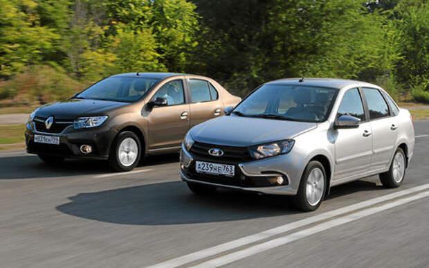 Обновленные Лада Гранта и Renault Logan - что выбрать?