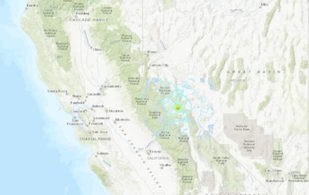 В Калифорнии произошло землетрясение мощностью 5,2 балла