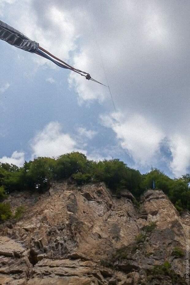 ropejumping39 Прыжок в Сухое озеро