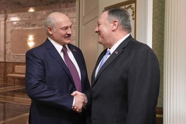 Встреча Александра Лукашенко с Государственным секретарем США Майклом Помпео. Фото: president.gov.by