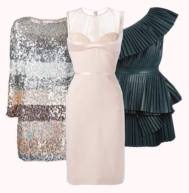 Лучшие платья для встречи Нового года