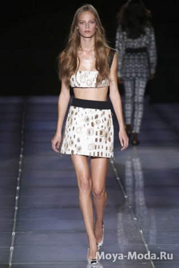 Модные юбки весна-лето 2015 Fausto Puglisi