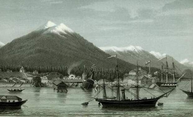 Новоархангельск (скорее всего начало 1830-х гг.)