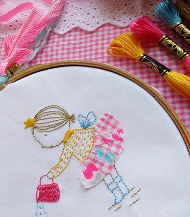Нежные вышивки и рисунки Tamar Nahir Yanai